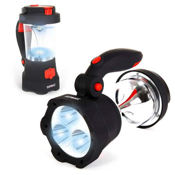 Duronic Hurricane 4 in 1 Rechargeable Wind-Up Dynamo Flashing Red LED Torch Review