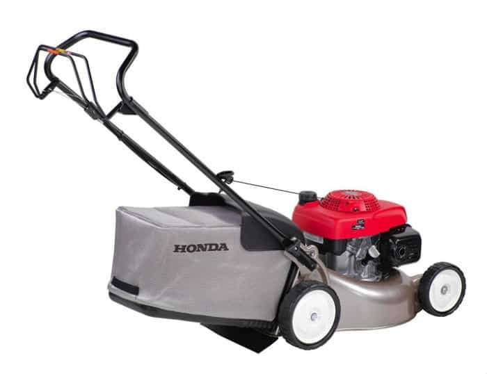 Honda Izy Petrol Lawnmower back view