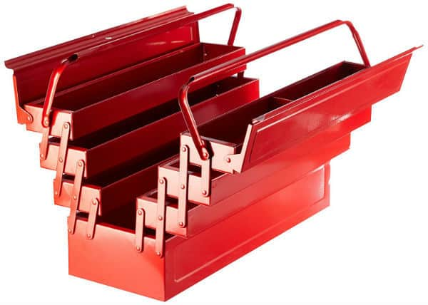 Laser 3487 Tool Box 7 Tray 21inch Review