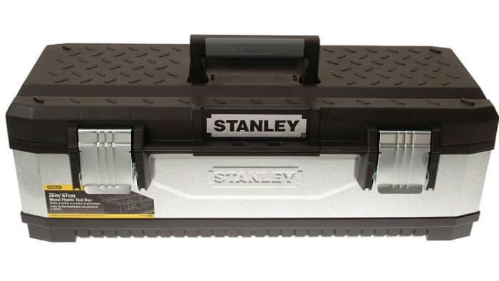 Stanley 195620 Galvanised Metal Toolbox 26-inch Review