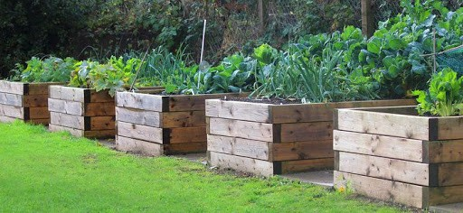 How to make your own raised bed for growing vegetables - Step 4