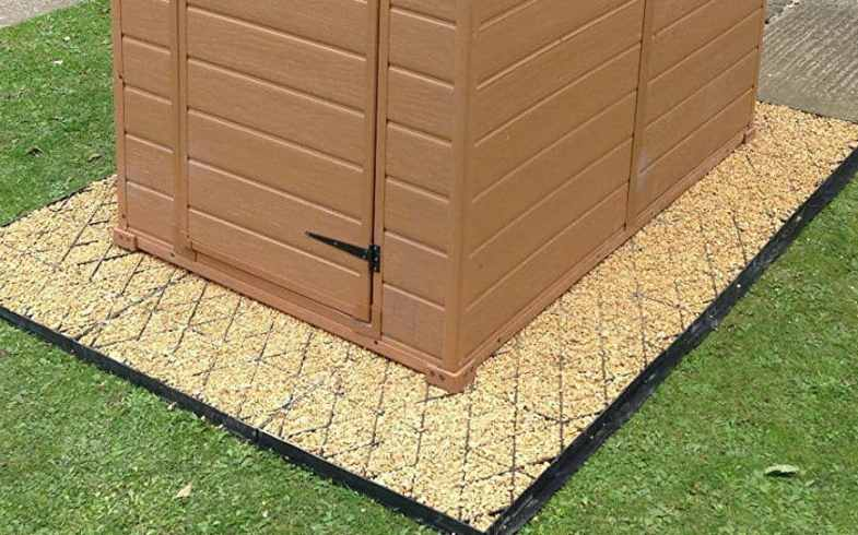 The Best Shed Base – 6 Wooden & Plastic Pre-Made Foundations