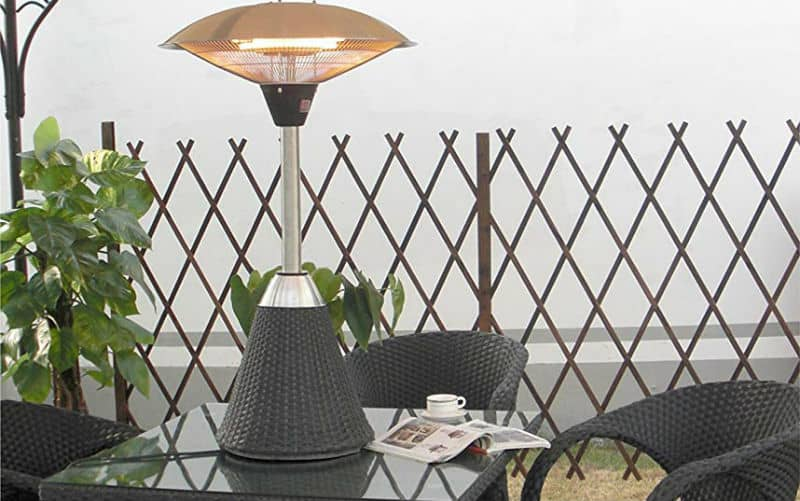 top 5 best electric patio heaters