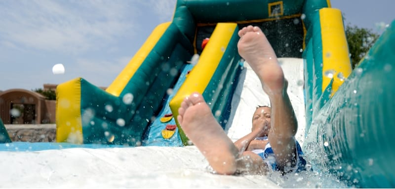 6 Best Inflatable Water Slides For Your Garden