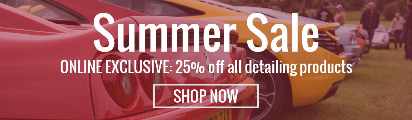 Summer Sale Banner - Pyramid Car Care