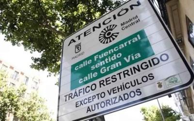 En Madrid no se podrá circular sin etiqueta dentro de la M30 desde 2022