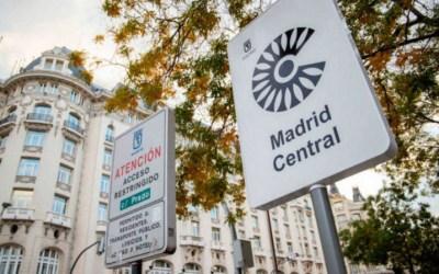 Los jueces anulan por sistema todas las multas de Madrid Central