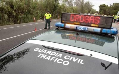 Campaña especial de la DGT de control de drogas y alcohol