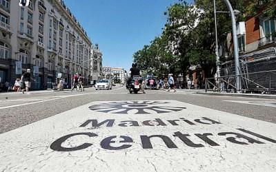 ¿Qué coches pueden entrar y cuales no en el nuevo Madrid Central?