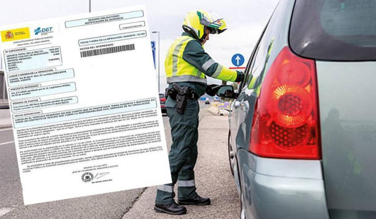 El Estado multiplica lo que piensa recaudar por multas de tráfico