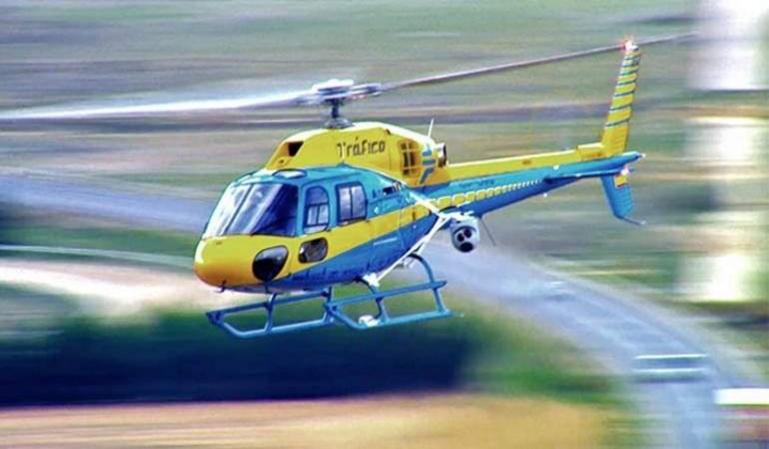 Los helicópteros Pegasus multan a más de 1.600 conductores cada mes