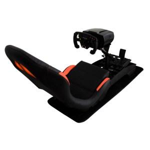 """Immagine del Bundle Sim Racing del simulatore """"PY-Versione Formula"""" con inquadratura da dietro, uno dei due elementi del bundle sim racing"""
