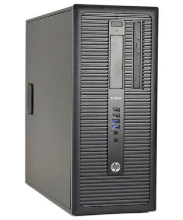 Computing Hp prodesk 600 g1 tower pc, 4th generation 3.6ghz processor intel core i3, 4gb ram, 500gb hdd [tag]