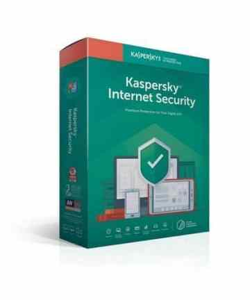 Softwares & Anti-virus Kaspersky internet security 1+1 users(kis 1+1) [tag]