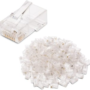 Computer Accessories Cable matters 50 pack cat 6, cat6 rj45 modular plugs for solid or stranded utp cable, rj45 plugs [tag]