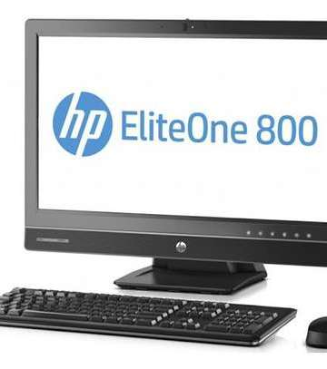 Computing Hp eliteone 800 g1 all-in-one pc, intel core i3 ,3.0ghz, 4gb ram, 500gb hdd [tag]