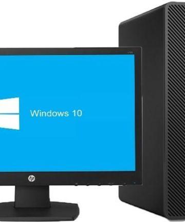 "Computing Hp 290 g1 micro tower desktop, Intel core i3, 4gb ram, 1tb hard disk, dvdrw, keyboard and mouse plus 18.5"" monitor. [tag]"