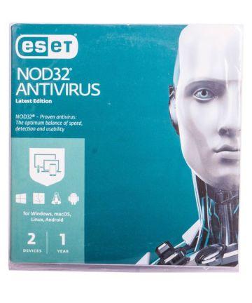 Softwares & Anti-virus ESET Antivirus 2 Users [tag]
