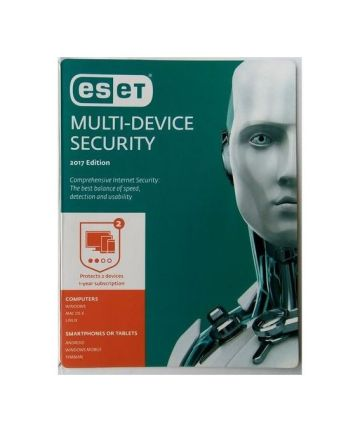Softwares & Anti-virus ESET Internet Security 2 Users [tag]