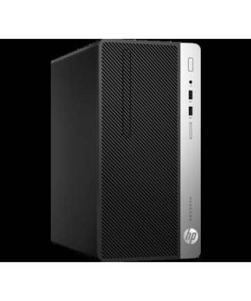 Complete Desktops HP ProDesk 400 G4 Micro Tower PC – Intel Core i7-8700, 3.6 GHz, 1TB HDD -4 GB RAM, Eng Keyboard, DOS, Black [tag]