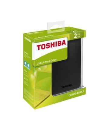 Computer Data Storage Toshiba Canvio Basics – External Hard Drive – USB 3.0 – 2TB – Black_ [tag]