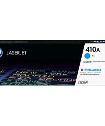 Printers & Accessories HP 410A Cyan Original LaserJet Toner Cartridge (CF411A) [tag]