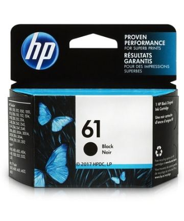 Printers & Accessories HP 61 Black Original Ink Cartridge (CH561WN) [tag]