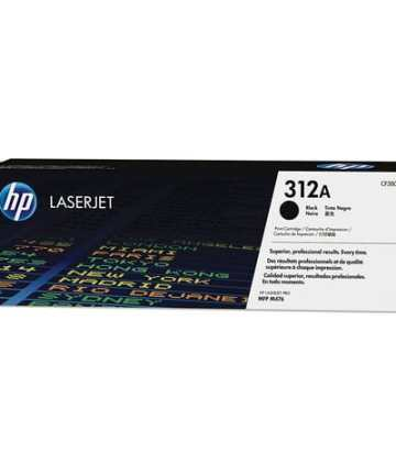 Printers & Accessories HP 312A (CF380A) Black Original LaserJet Toner Cartridge [tag]