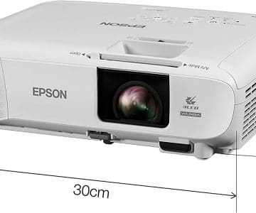 Electronics Epson EB-U05 3LCD, Full HD, 3400 Lumens, 300 Inch Display Projector [tag]