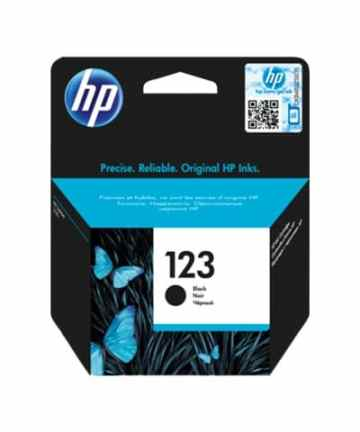 Printers & Accessories Hp ink Cartridge 123 Black [tag]