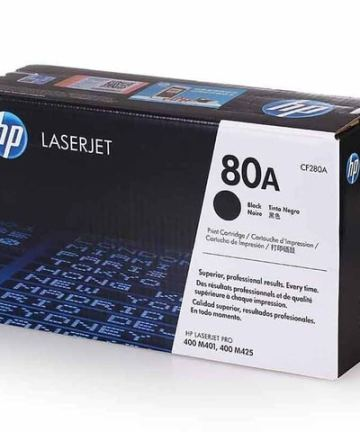 Printers & Accessories HP 80A (CF280A) Black Original LaserJet Toner Cartridge [tag]
