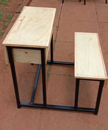 Schoolfurniturekenya Kenya Primary School Ministry Approved Single Student Desk Kenya School Furnature