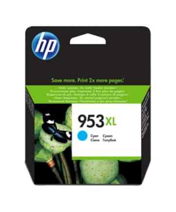 Printers & Accessories HP 953XL High Yield Cyan Original Ink Cartridge – F6U16AE [tag]