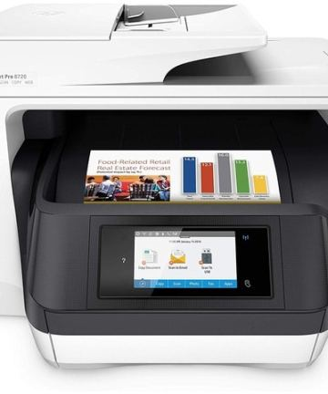 Computing HP OfficeJet Pro 8720 All in One Wireless Printer