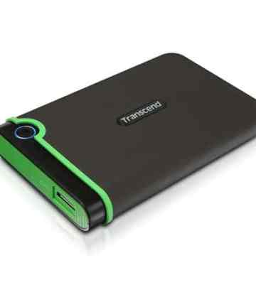 Computer Data Storage 500 GB TRANSCEND Storejet 25M3 External Hard Drive with USB 3.1 [tag]