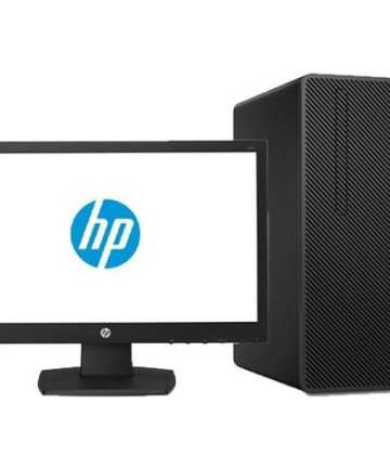 Complete Desktops HP 290 G2 Micro Tower PC- Intel Core i3-4GB RAM-1TB HDD-8500, 3.4GHz, 18.5 Inch, Eng Keyboard, DOS, Black [tag]