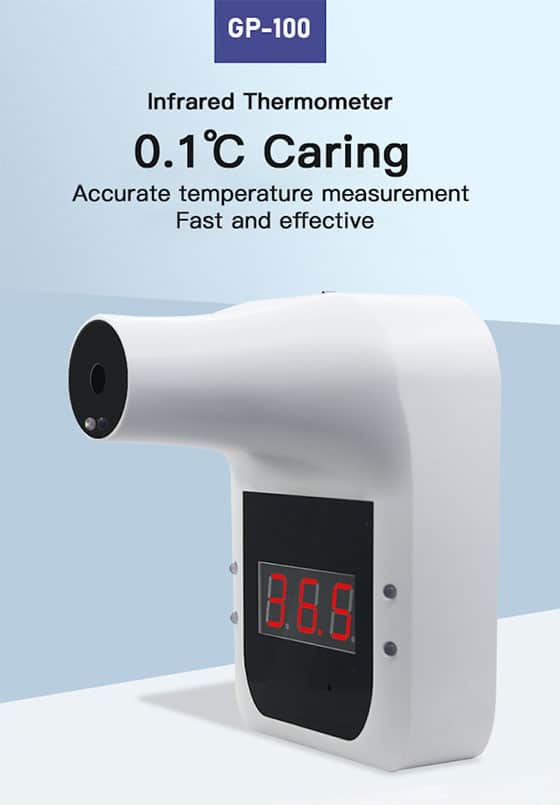 Hanging Type NON-Contact Infrared forehead thermometer GP100