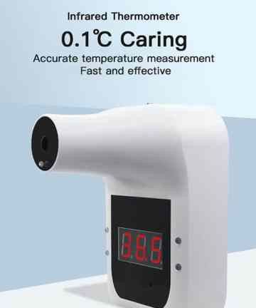 Covid 19 products Hanging Type NON-Contact Infrared forehead thermometer GP100 Corona Virus