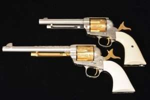 The Exacting Dimensions Of Umarex Colt Peacemaker Compared To A 45 Saa