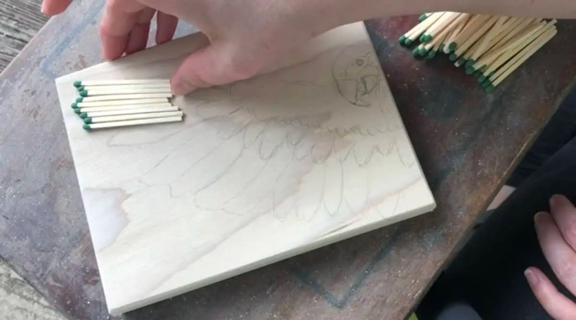 Pyrography-techniques