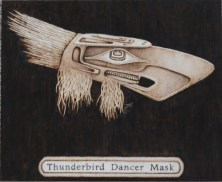 Thunderbird Dancer Mask