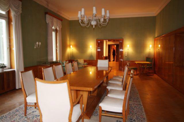 Immenhof alias Rothensande: Der Speisesaal im Herrenhaus.