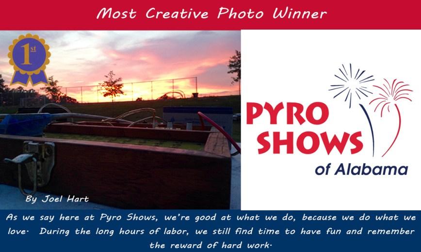 Crew Photo Contest Winners ALABAMA - Most Creative