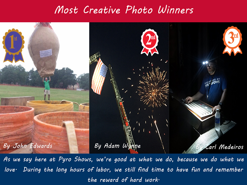 Crew Photo Contest Winners - Most Creative - Web Sized