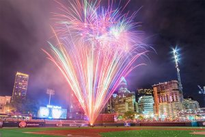 Charlotte Knights, Pyro Shows