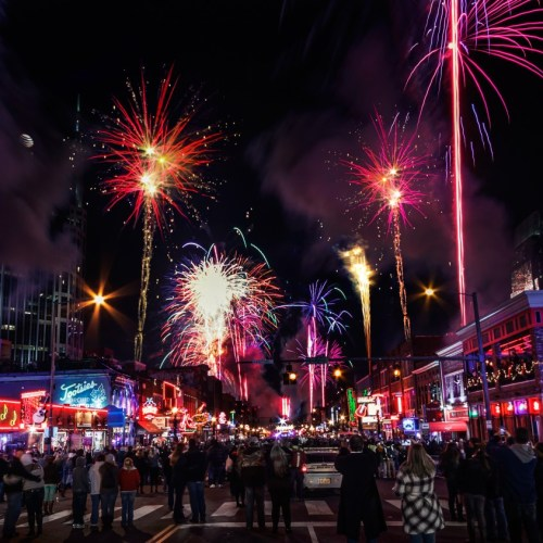 Nashville, Bash On Broadway, Fireworks, Pyro Shows
