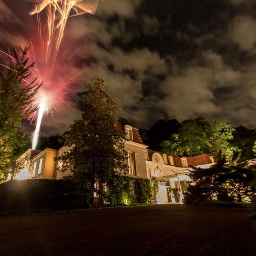 Wedding Fireworks - Photo by Garrett Hill