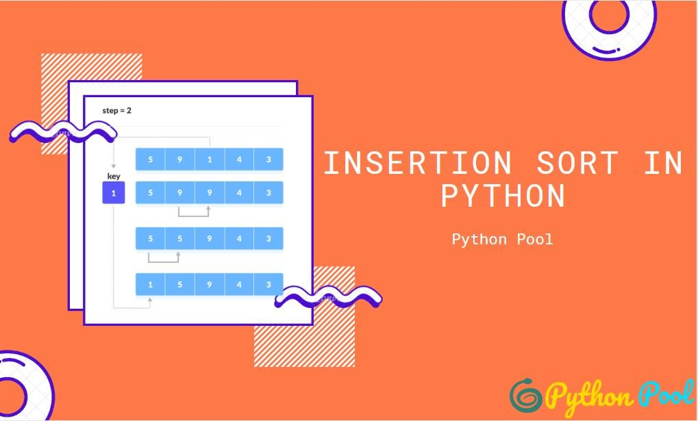 insertion sort python