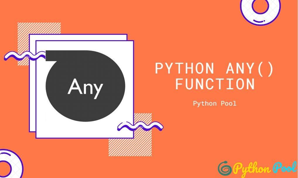 Python any