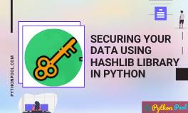 python hashlib
